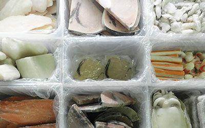 Vaschette PVC per surgelato sfuso