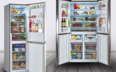 Freezer doppia zona di carico, sia verticale che orizzontale