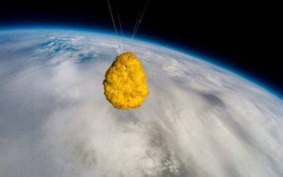 Ristoaffari: crocchetta, celebrativa, lanciata nello spazio!