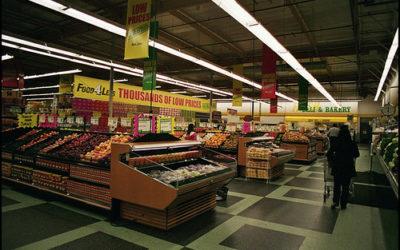 Chiusura a pressione nel giorno del supermercato